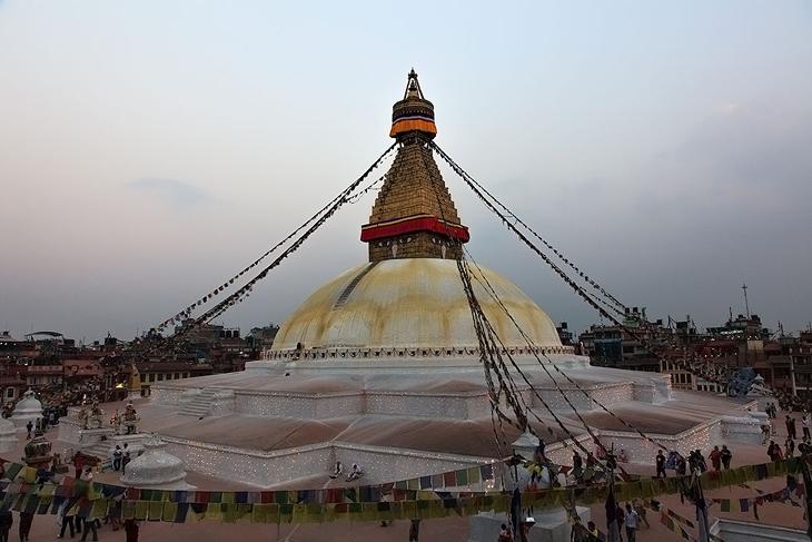 Непал, Катманду. Ступа Бодхи