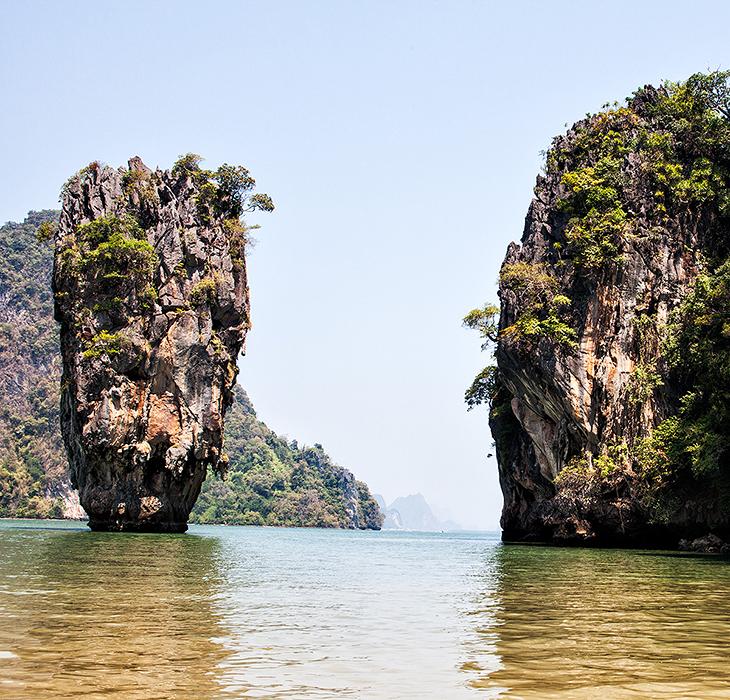 Тайланд. Вид с острова Джеймса Бонда